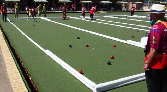 Bocce Court Competition